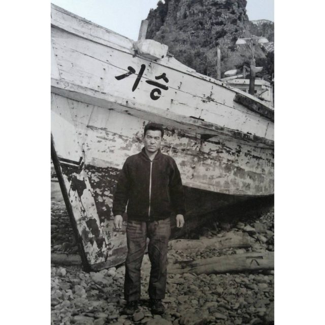 This is my grandfather and his boat My grandfather was ...