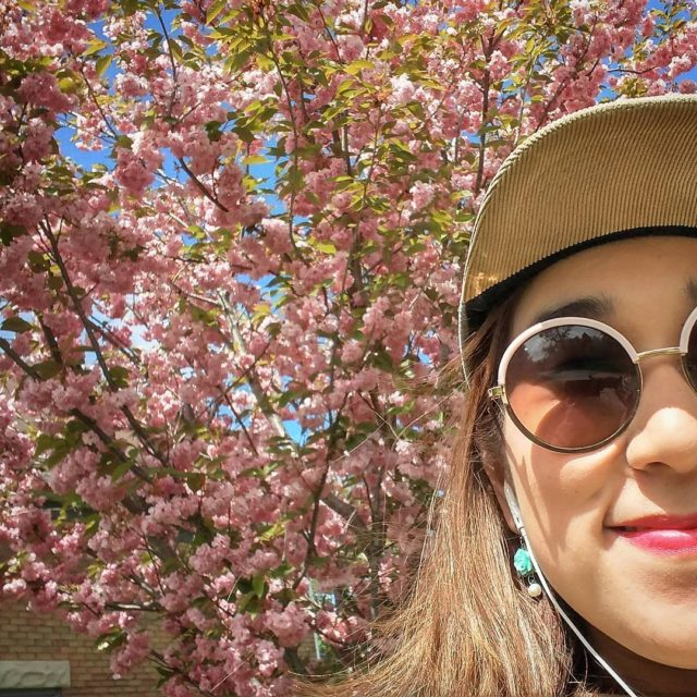 Ohhhhh there are cherry blossom trees in Cherry Park Now ...
